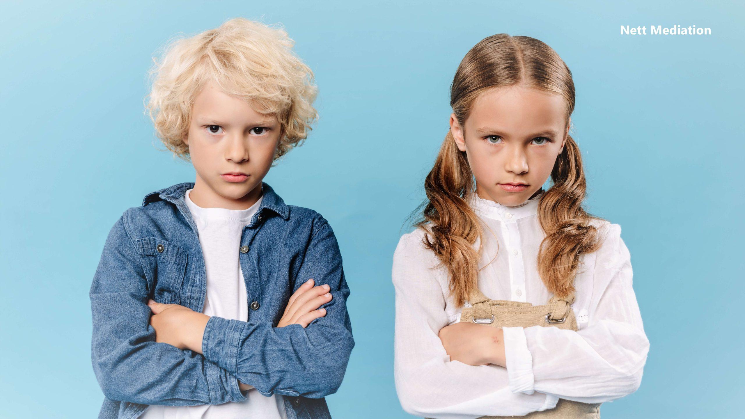 Kinderen scheiden mee